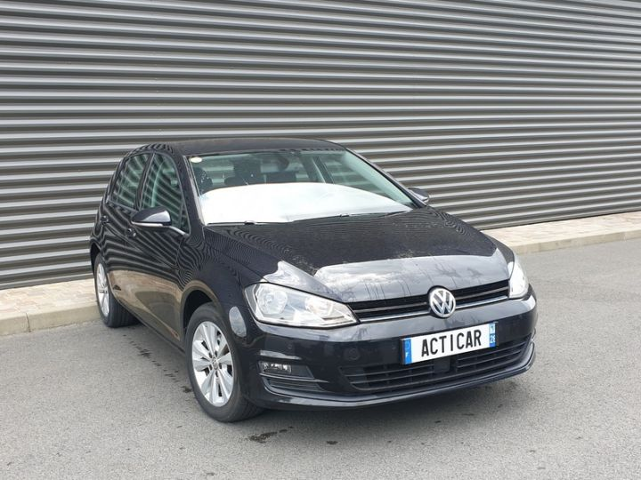 Volkswagen Golf 7 1.6 tdi 110 confortline businesq Noir Occasion - 2