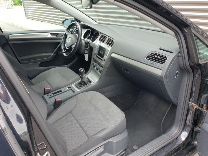 Volkswagen Golf 7 1.6 tdi 110 confortline businesq Noir Occasion - 8