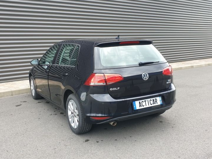 Volkswagen Golf 7 1.6 tdi 110 confortline business Noir Occasion - 16