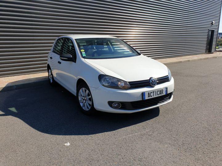 Volkswagen Golf 7 1.6 tdi 90 confortline 5 pts bm Blanc Occasion - 2