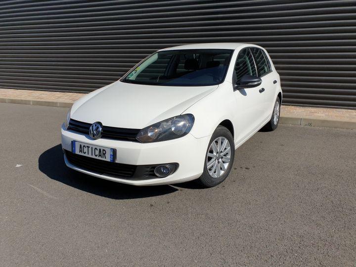 Volkswagen Golf 7 1.6 tdi 90 confortline 5 pts bmi Blanc Occasion - 1