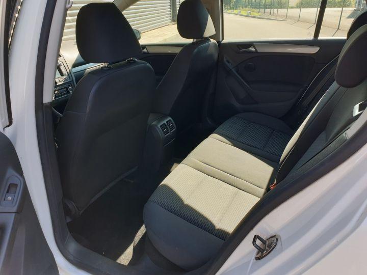Volkswagen Golf 7 1.6 tdi 90 confortline 5 pts bmi Blanc Occasion - 6