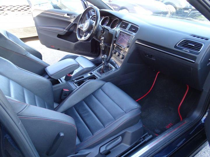 Volkswagen Golf 7 2.0 TSI 220 BLUEMOTION TECHNOLOGY GTI 3P/ FULL Options noir metallisé - 12