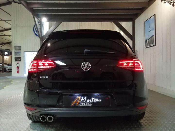 Volkswagen Golf 7 GTD 2.0 TDI 184 CV BV6 5P Noir - 4