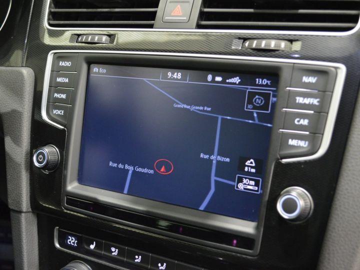 Volkswagen Golf 7 SW GTD 2.0 TDI 184ch DSG 1ERE MAIN GPS DISCOVER ACC 18 SMARTLINK XENON ENTR. VW TVA RECUP NOIR - 8
