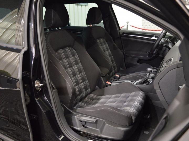 Volkswagen Golf 7 SW GTD 2.0 TDI 184ch DSG 1ERE MAIN GPS DISCOVER ACC 18 SMARTLINK XENON ENTR. VW TVA RECUP NOIR - 13