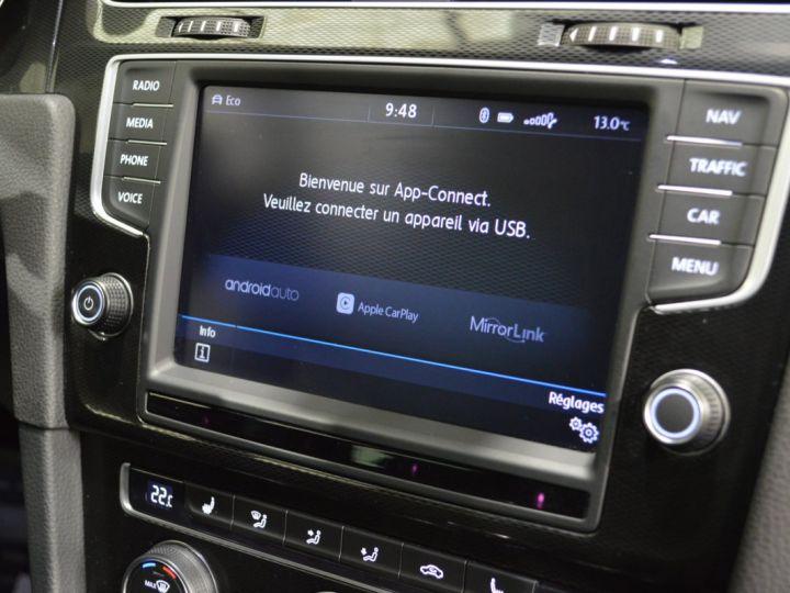 Volkswagen Golf 7 SW GTD 2.0 TDI 184ch DSG 1ERE MAIN GPS DISCOVER ACC 18 SMARTLINK XENON ENTR. VW TVA RECUP NOIR - 15