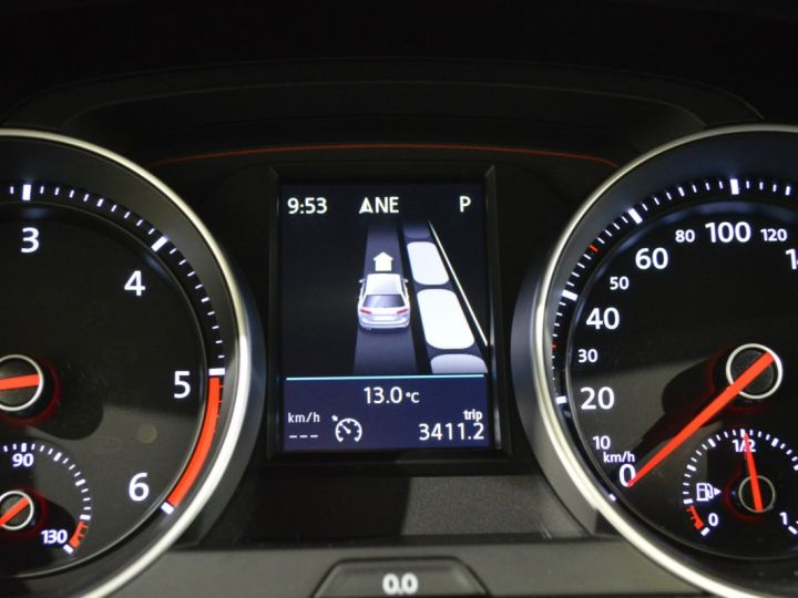 Volkswagen Golf 7 SW GTD 2.0 TDI 184ch DSG 1ERE MAIN GPS DISCOVER ACC 18 SMARTLINK XENON ENTR. VW TVA RECUP NOIR - 16