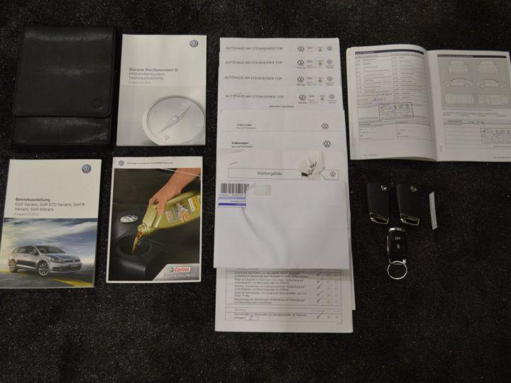 Volkswagen Golf 7 SW GTD 2.0 TDI 184ch DSG 1ERE MAIN GPS DISCOVER ACC 18 SMARTLINK XENON ENTR. VW TVA RECUP NOIR - 21