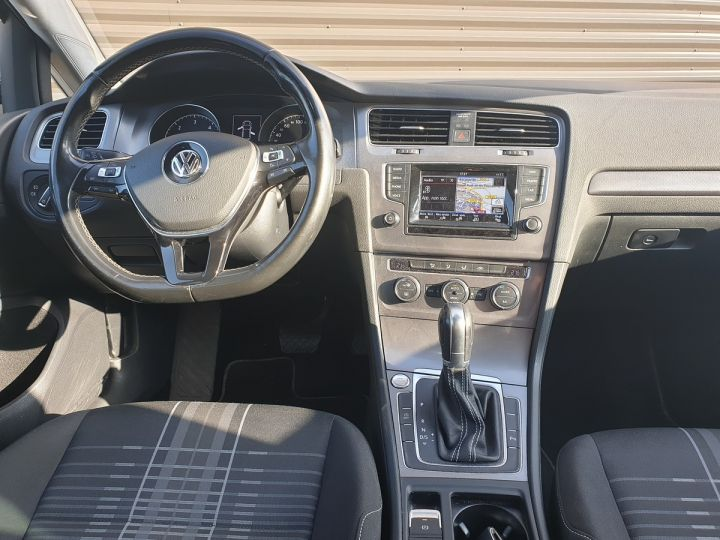 Volkswagen Golf 7 vii 2.0 tdi 150 lounge dsg bva s Noir Occasion - 5