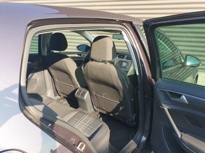Volkswagen Golf 7 vii 2.0 tdi 150 lounge dsg bva s Noir Occasion - 7