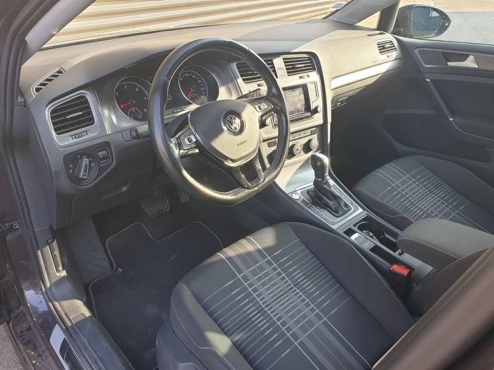 Volkswagen Golf 7 vii 2.0 tdi 150 lounge dsg bva s Noir Occasion - 10