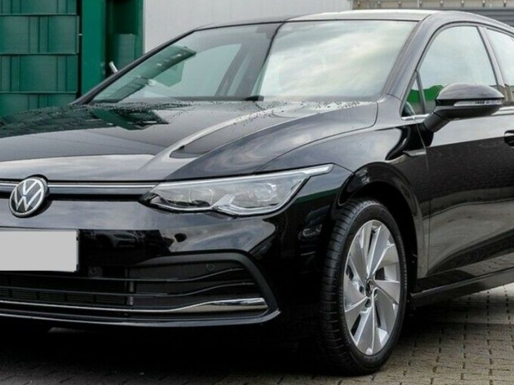 Volkswagen Golf 8 1.5TSI 150 DSG Style / Toit ouvrant/Alcantara/09/2020 noir métal - 1