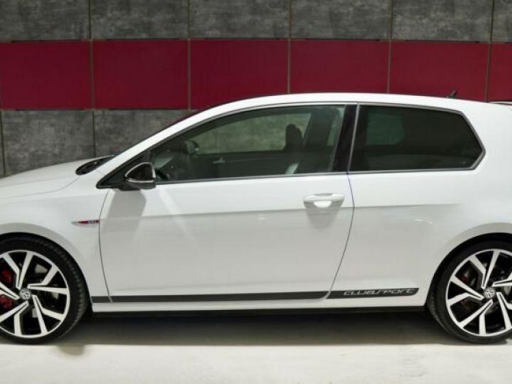 Volkswagen Golf Clubsport Blanc - 2