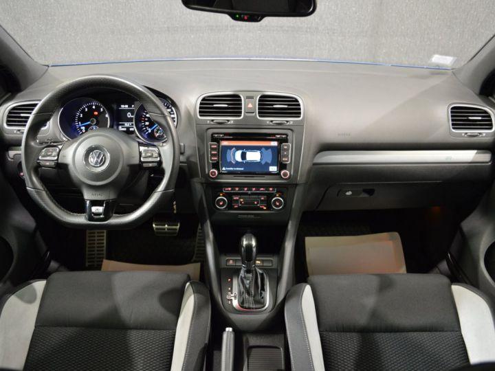 Volkswagen Golf Collector vi r 2.0 tsi 270ch dsg 1ere main entretien complet vw 55000kms 2012 full origine BLEU RISING - 8