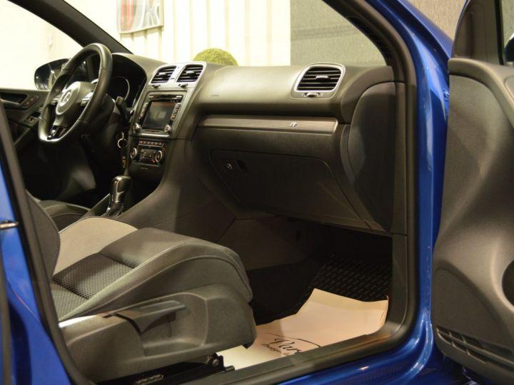 Volkswagen Golf Collector vi r 2.0 tsi 270ch dsg 1ere main entretien complet vw 55000kms 2012 full origine BLEU RISING - 9