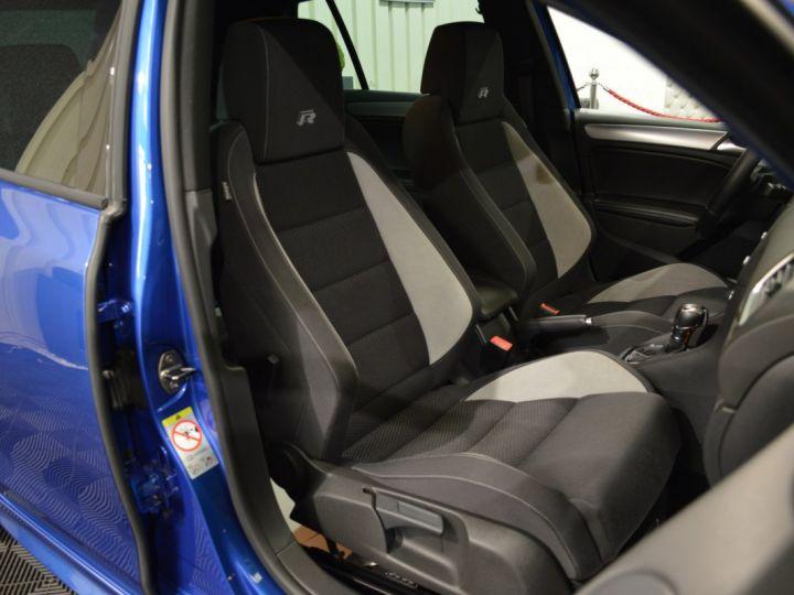 Volkswagen Golf Collector vi r 2.0 tsi 270ch dsg 1ere main entretien complet vw 55000kms 2012 full origine BLEU RISING - 11