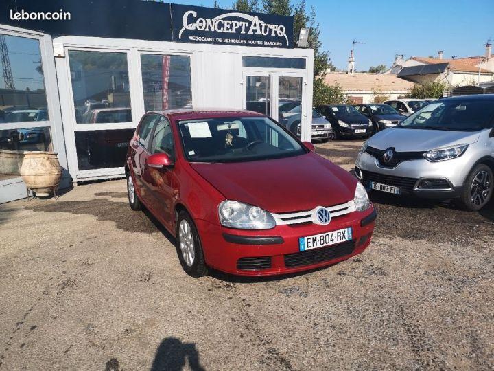 Volkswagen Golf confort ROUGE Occasion - 2