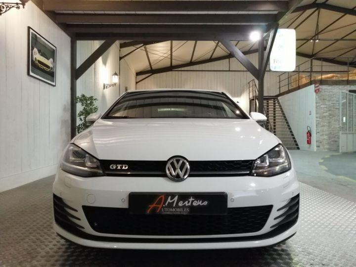 Volkswagen Golf GTD 2.0 TDI 184 CV BV6 5P Blanc - 3