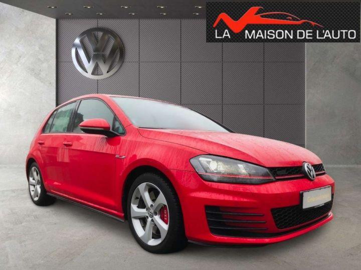 Volkswagen Golf GTI rouge tornado  - 1