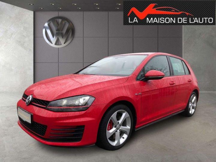 Volkswagen Golf GTI rouge tornado  - 2
