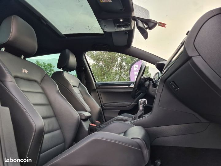 Volkswagen Golf r 2.0 tsi 300 12/2014 DISCOVER PRO TOE CAMERA ACC CUIR  - 4