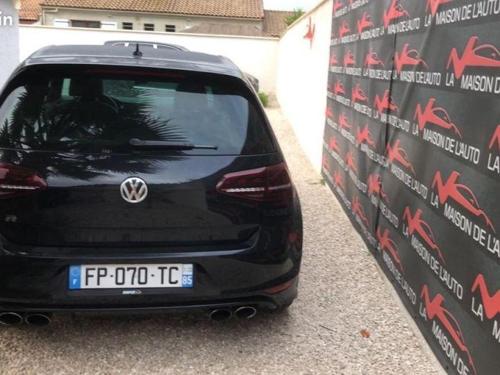 Volkswagen Golf R VII 2.0 TSI 300 BLUEMOTION / FRANCE / FULL OPTIONS / EXCELLENT ETAT / GARANTIE Noir métallisée  - 3