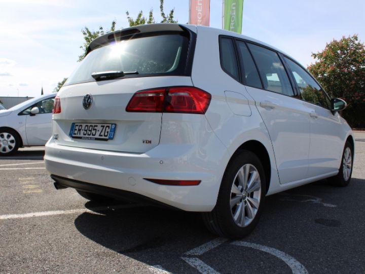Volkswagen Golf Sportsvan TDI 115 FAP Confortline Business Blanc - 3