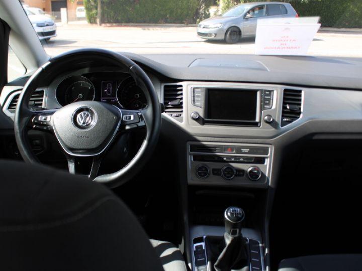 Volkswagen Golf Sportsvan TDI 115 FAP Confortline Business Blanc - 5
