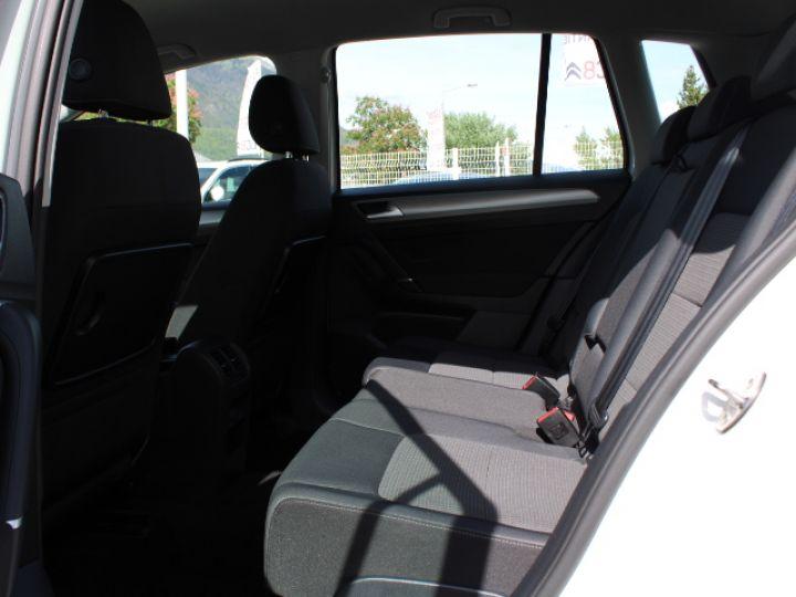 Volkswagen Golf Sportsvan TDI 115 FAP Confortline Business Blanc - 6