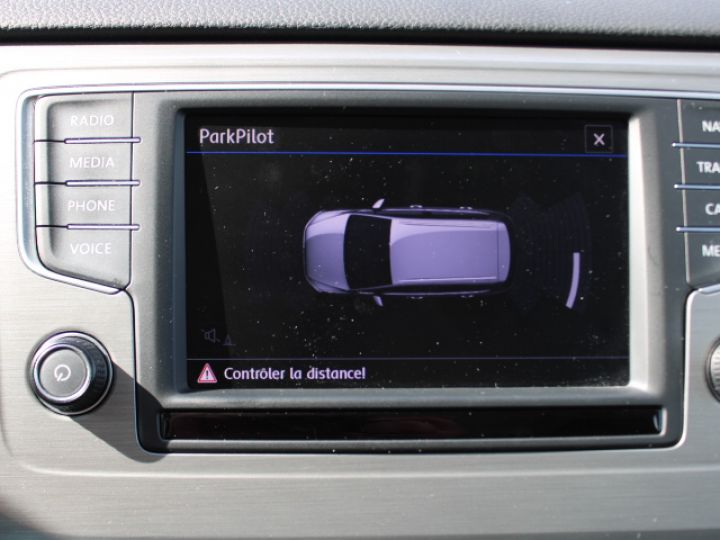 Volkswagen Golf Sportsvan TDI 115 FAP Confortline Business Blanc - 22