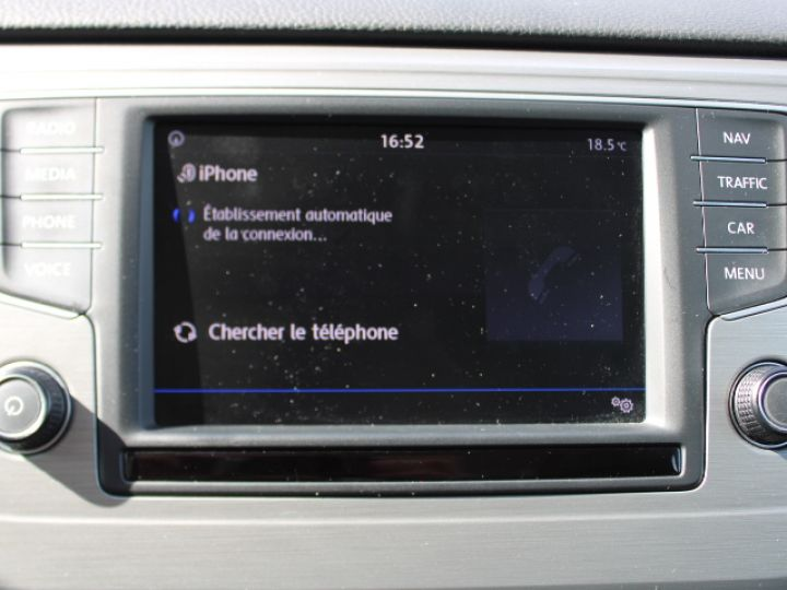Volkswagen Golf Sportsvan TDI 115 FAP Confortline Business Blanc - 23