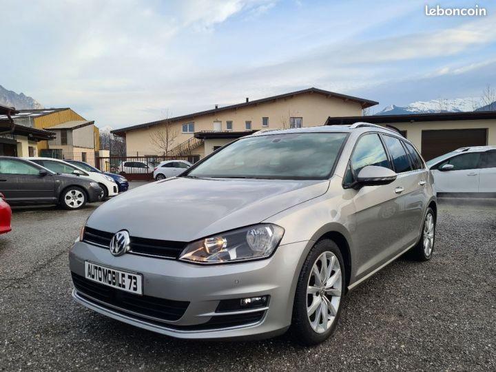 Volkswagen Golf sw 1.6 tdi 105 carat 04/2014 TOIT OUVRANT ACC GPS  - 1