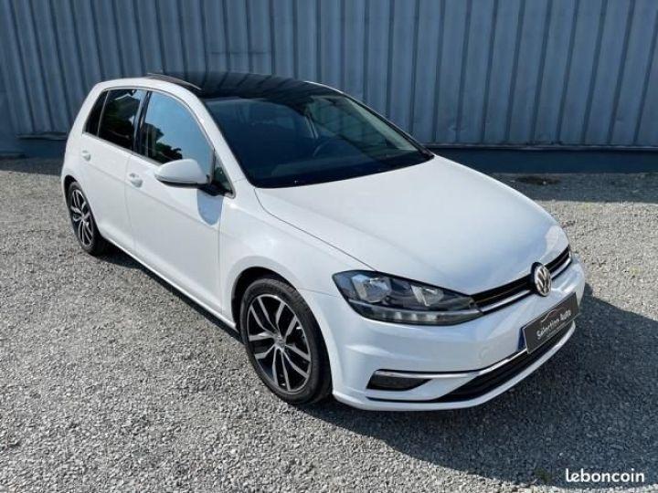 Volkswagen Golf tdi 150 confortline business Blanc - 2