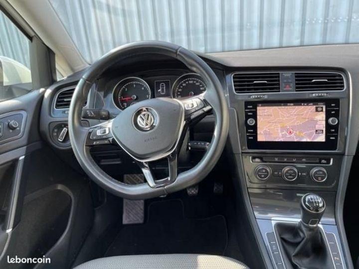 Volkswagen Golf tdi 150 confortline business Blanc - 7