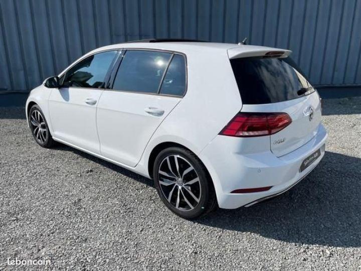 Volkswagen Golf tdi 150 confortline business Blanc - 9
