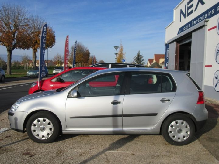 Volkswagen Golf V 1.6 102CH TREND 5P Gris Clair Occasion - 5