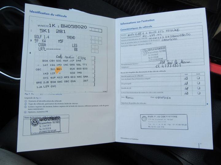 Volkswagen Golf VI 1.4 80CH TRENDLINE 5P Gris Clair Occasion - 18