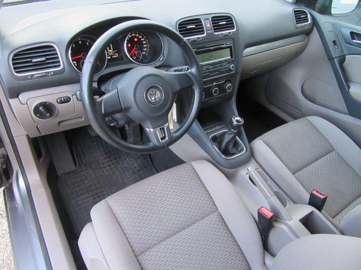 Volkswagen Golf VI 1.4 80CH TRENDLINE 5P Gris Fonce Occasion - 2