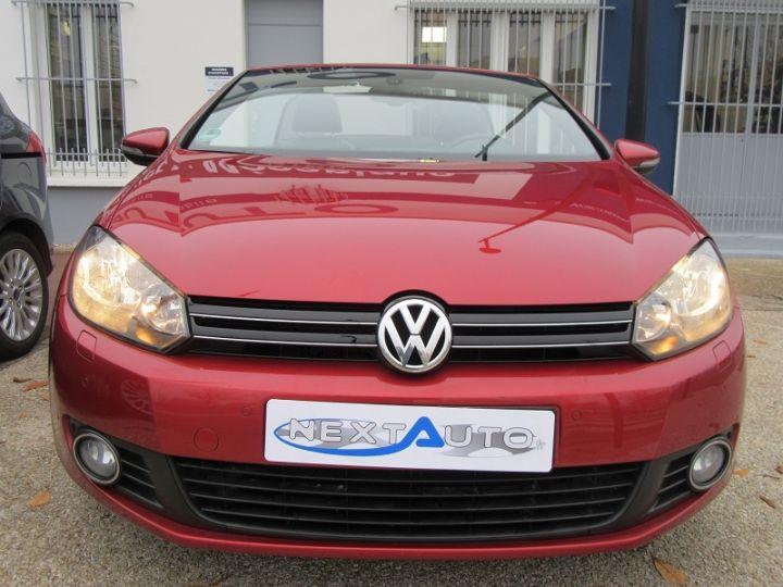 Volkswagen Golf VI CABRIOLET 1.2 TSI 105CH CARAT BLUEMOTION TECHNOLOGY Rouge Occasion - 6