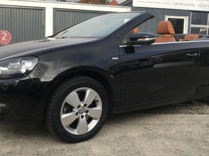 Volkswagen Golf VI Cabriolet 2.0TDI 140 Life DSG6 noir métal nacré - 9