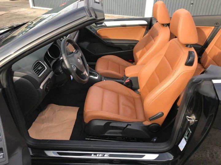Volkswagen Golf VI Cabriolet 2.0TDI 140 Life DSG6 noir métal nacré - 10
