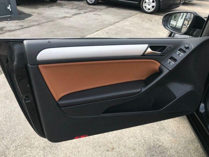 Volkswagen Golf VI Cabriolet 2.0TDI 140 Life DSG6 noir métal nacré - 12