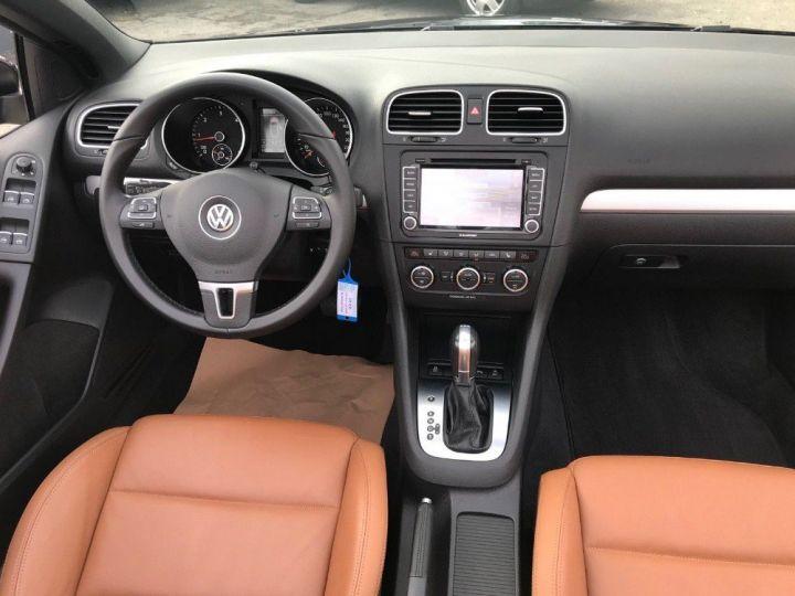 Volkswagen Golf VI Cabriolet 2.0TDI 140 Life DSG6 noir métal nacré - 14