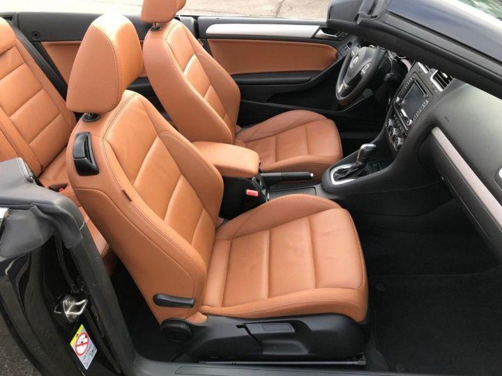 Volkswagen Golf VI Cabriolet 2.0TDI 140 Life DSG6 noir métal nacré - 15