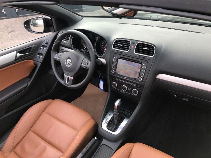 Volkswagen Golf VI Cabriolet 2.0TDI 140 Life DSG6 noir métal nacré - 16
