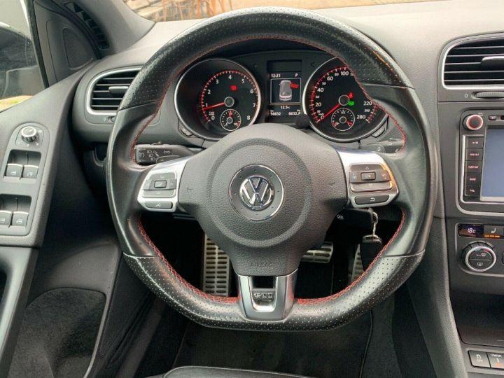 Volkswagen Golf VI  GTI 2.0 210 DSG noir métal - 11