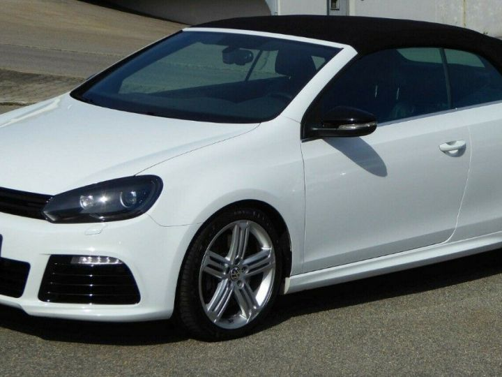 Volkswagen Golf VI R 2.0 TSI 265 DSG6 Cabriolet 09/2013 Blanc métal  - 1