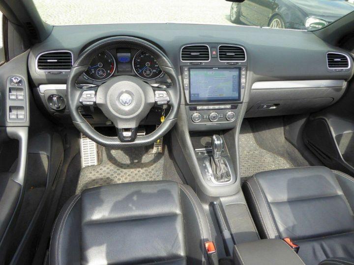 Volkswagen Golf VI R 2.0 TSI 265 DSG6 Cabriolet 09/2013 Blanc métal  - 3
