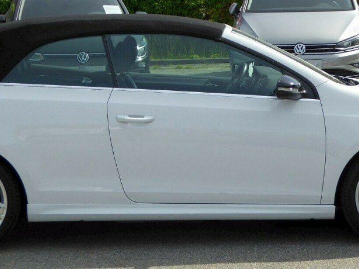 Volkswagen Golf VI R 2.0 TSI 265 DSG6 Cabriolet 09/2013 Blanc métal  - 6